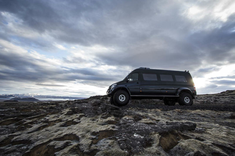 Highland tour Iceland lava Super Jeep