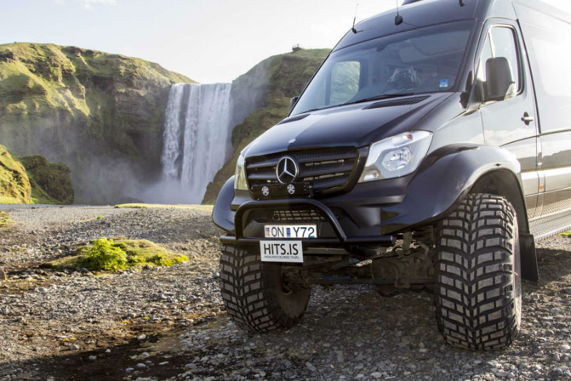 South coast tours Iceland in a Super Jeep